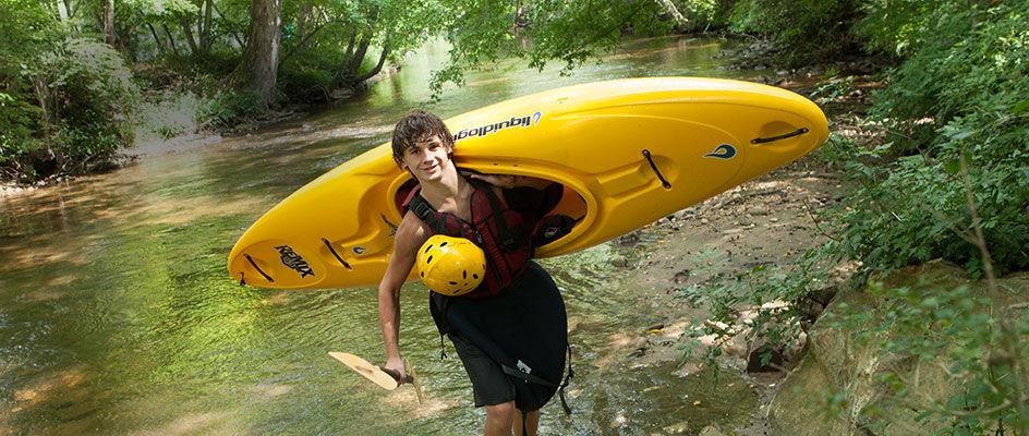 Boy Kayaker