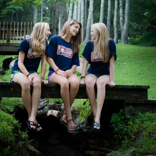 Summer camp for girls