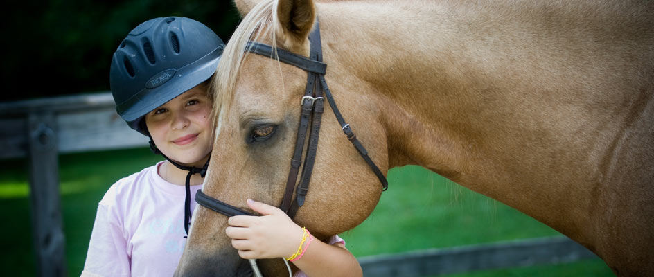 A-camper-in-the-highlander-equestrian-program