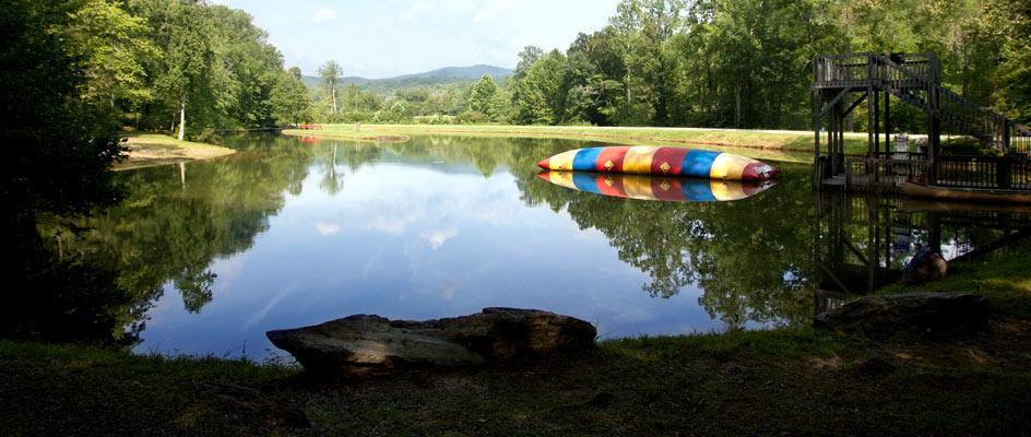 Lake-and-blob